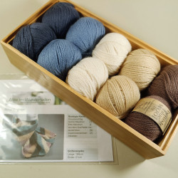 Strickpaket Schal Brighton - Fb: Kurt
