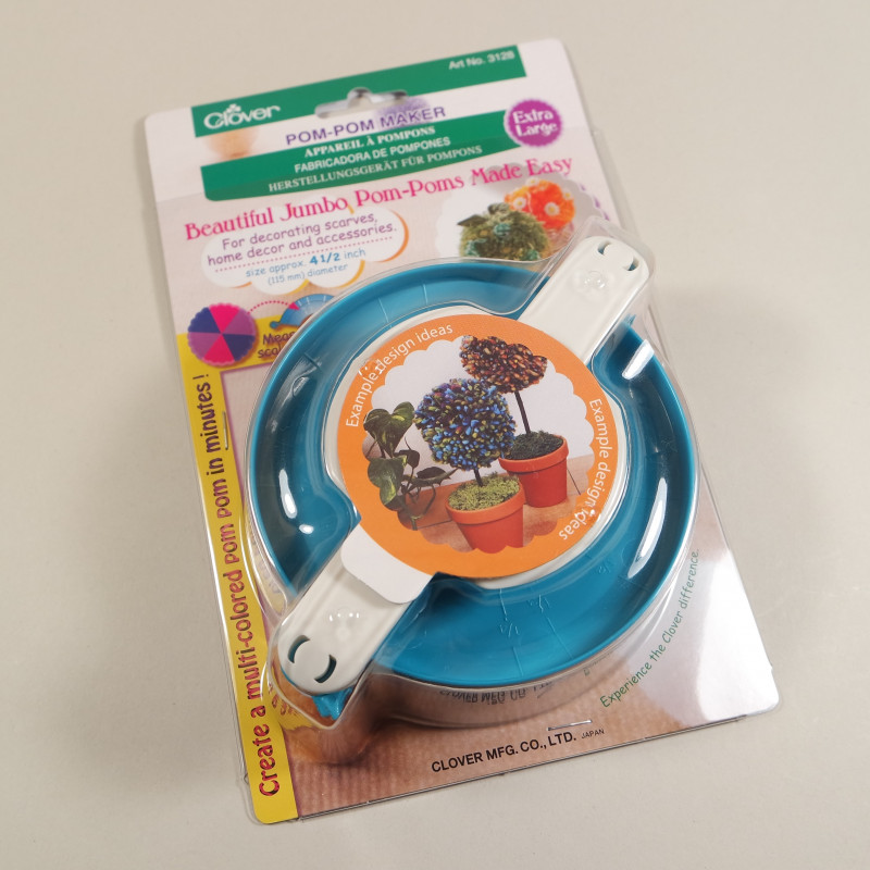 XL Clover Pompom-Maker extra large