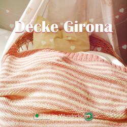 Strickpaket Decke Girona -...