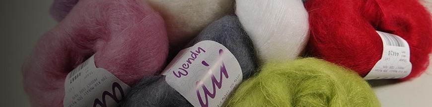 Wendy Air - ein klassisches Garn aus Mohair und Nylon.