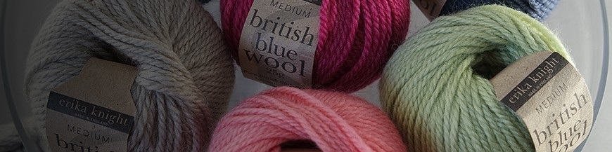 british blue wool by erika knight